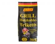 Holzkohle-Briketts 3Kg favorit