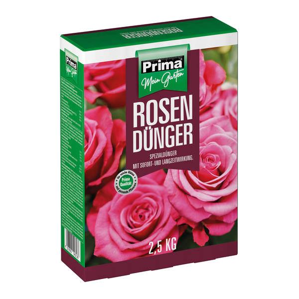 Rosendünger 2,5kg Prima Spezialdünger für Rosen mit sofortwirkung langzeitwirkung