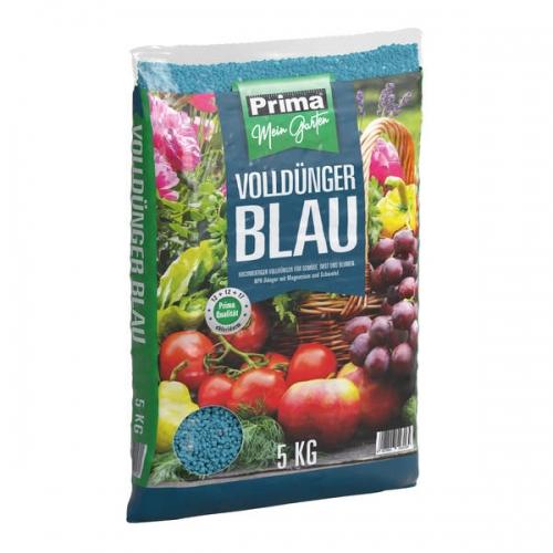 Volldünger 5Kg Prima blau für Gemüse
