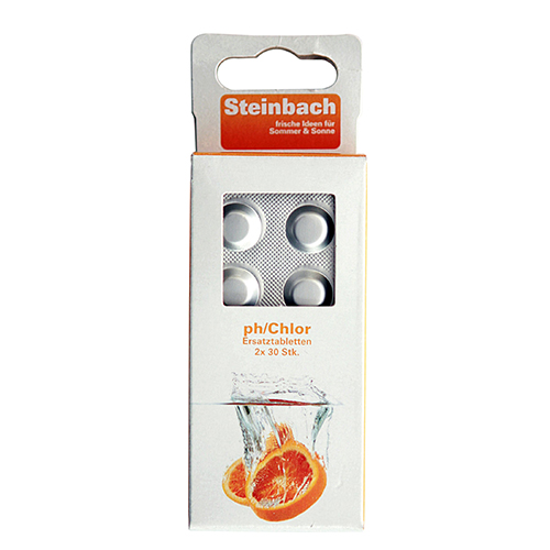 Steinbach pH/Chlor Ersatztabletten/ Nachfüllpackung Poolbedarf Swimmingpool Wasserqualität