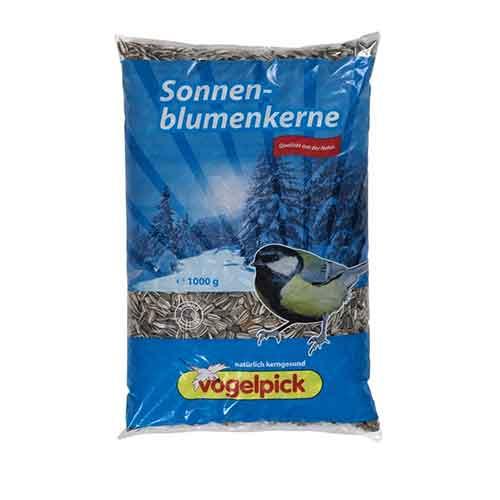 sonnenblumenkerne 1kg Rahmer Vogelfutter