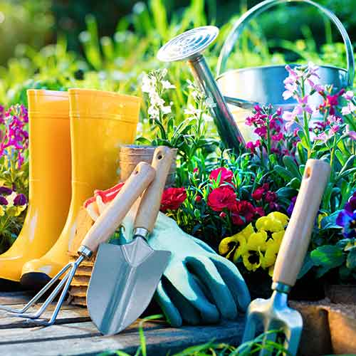 Gartenwerkzeuge Schaufeln