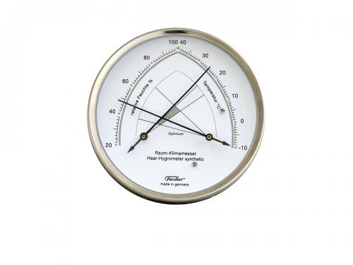 Raum– Klimamesser Haar Hygrometer Fischer