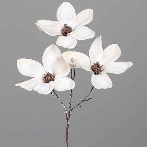 Trixi magnolie Kunstblume Kunstpflanze unechte Pflanze