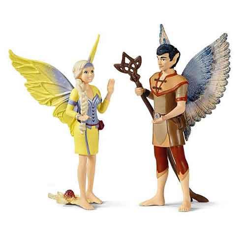 Schleich Spielfiguren Bayala The Movie Sera und Jaro
