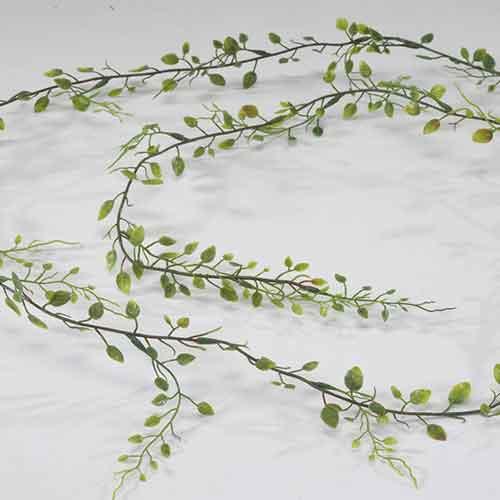 trixi Kunstblume Kunstpflanze unechte Pflanze miniblattgirlande