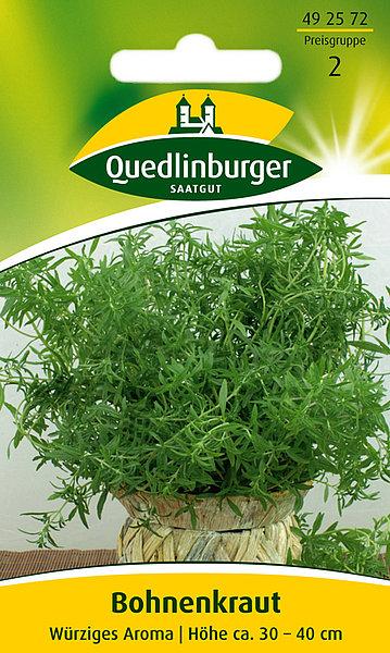 Saatgut   Bohnenkraut   Quedlinburger