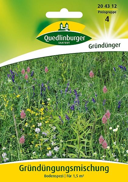Saatgut   Gründüngungsmischung, Bodenspezi   Quedlinburger