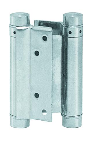 Pendeltürband Eisen vernickelt 75 mm