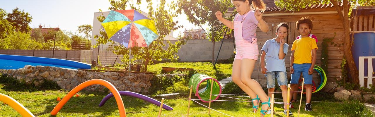 Spiel & Spaß. Kinder, Garten, Spielzeug