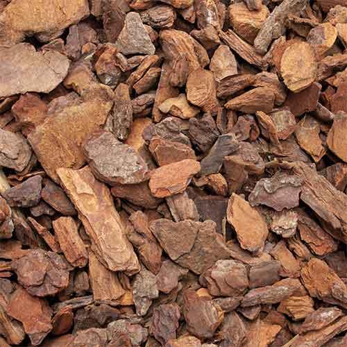 Galamio   Hochwertiges Rindenmulch, Pinienrinde, Mittel 15-25mm, 70l