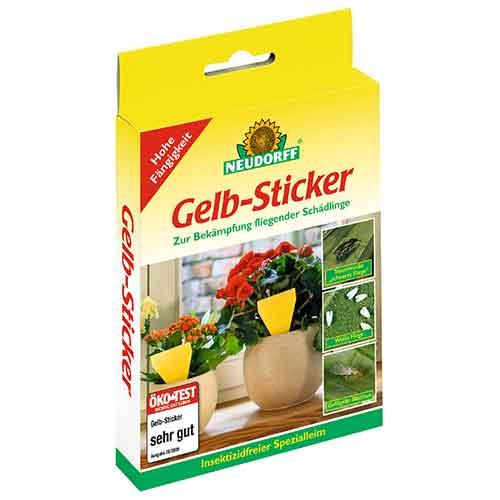 Neudorff | Gelb Sticker, 10 Stück