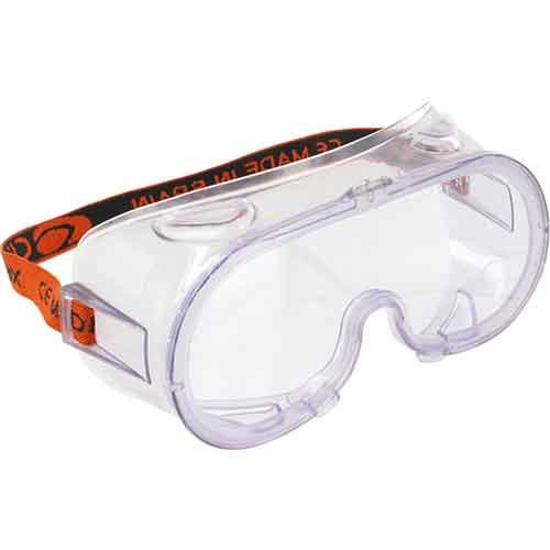 TRIUSO | Vollsicht - Schutzbrille - BF1 mit Ventilation