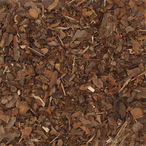 Galamio   Hochwertiges Rindenmulch, Kiefernrinde, Fein 10-20mm, 70l