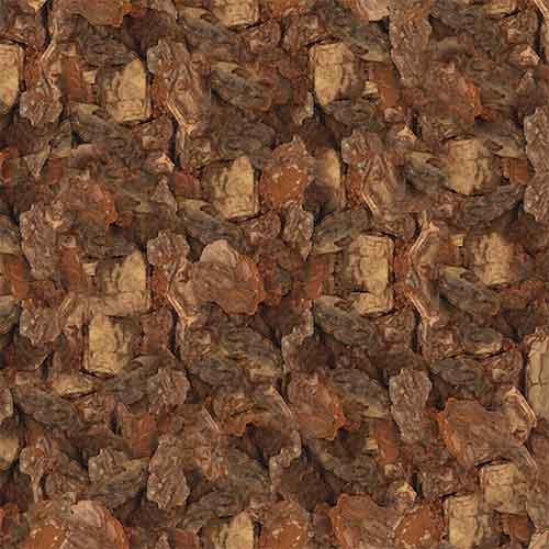 Galamio | Hochwertiges Rindenmulch, Kiefernrinde, Grob 20-60mm, 70l