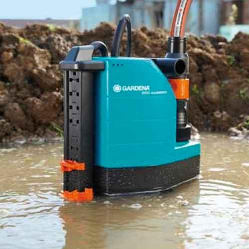 Gardena | Schmutzwasser-Tauchpumpe 8500 aquasensor