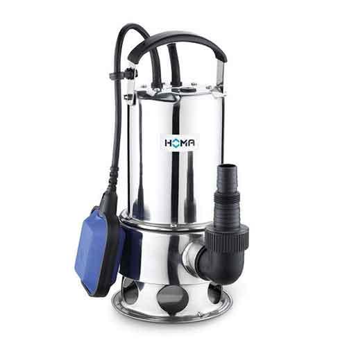 HOMA | Schmutzwasser-, Tauchmotorpumpe, TCV 408 WA, 230 V, mit automatischer Schwimmerschaltung