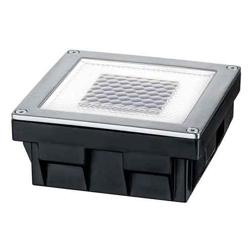 Paulmann | Bodeneinbauleuchte Solar, Cube, 100x100x45mm
