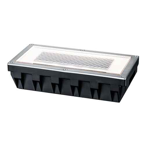 Paulmann | Bodeneinbauleuchte Solar, Box, 200x100x51mm