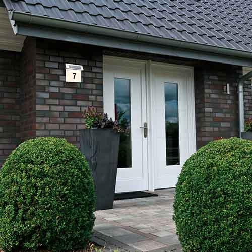 Paulmann | Hausnummernleuchte Special, Solar, weiß