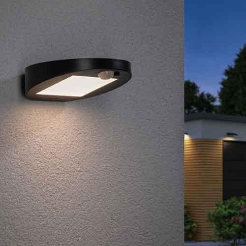 Paulmann | Solar LED Wandleuchte Ryse, anthrazit