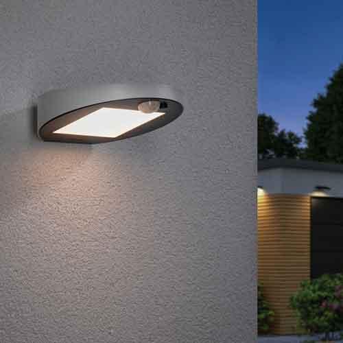 Paulmann | Solar LED Wandleuchte Ryse, weiß