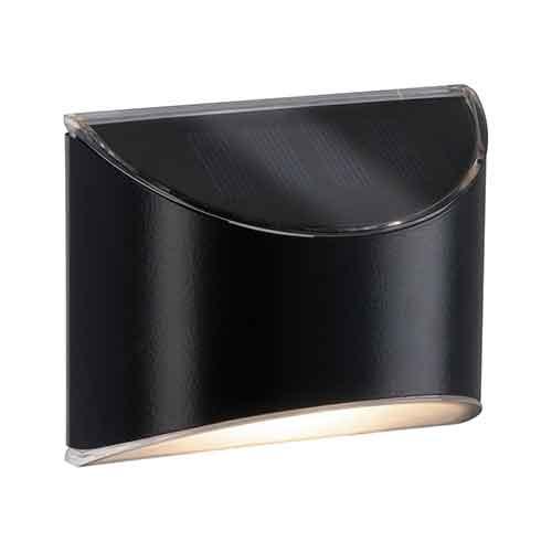 Paulmann | Solar LED Wandleuchte Elliot, Grau